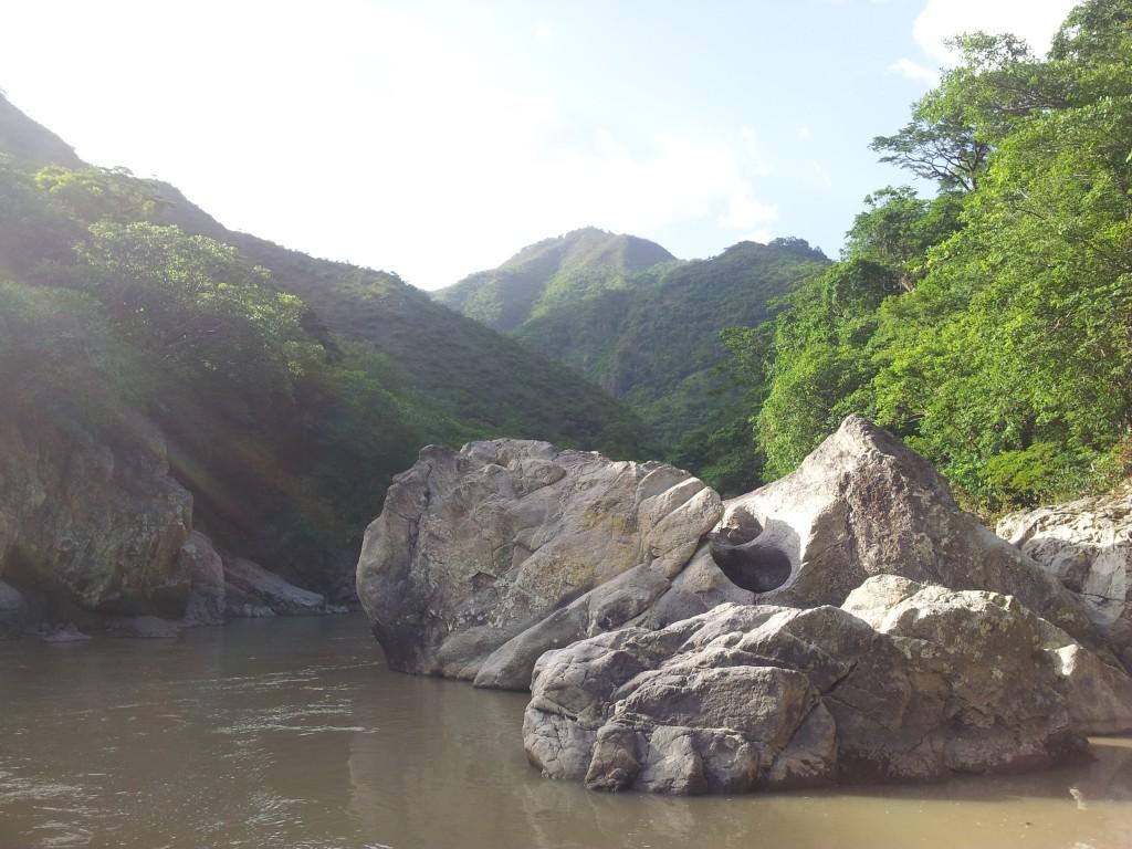 Rio San Juan es un sitio hermoso y majestuoso, con una gran importancia, tanto física como espiritualmente para los Lencas que viven a su alrededor