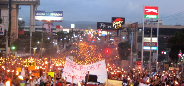 The Largest Antorchas March Against Corruption so far, and the Struggle Continues – Please Act to Support Honduras' Demands for Justice