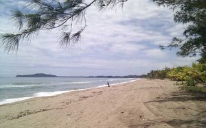 The North coast of Honduras is sprinkled with beautiful beaches, and Triunfo has an amazing one - unfortunately, to developers this appears to makes the land more valuable than the people living there
