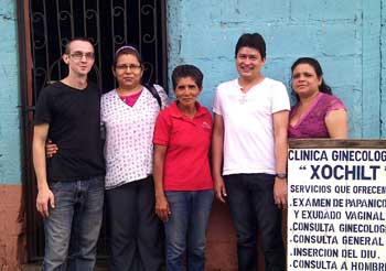 """Clinica Xochil"" – volunteering in a clinic in El Viejo, Nicaragua"
